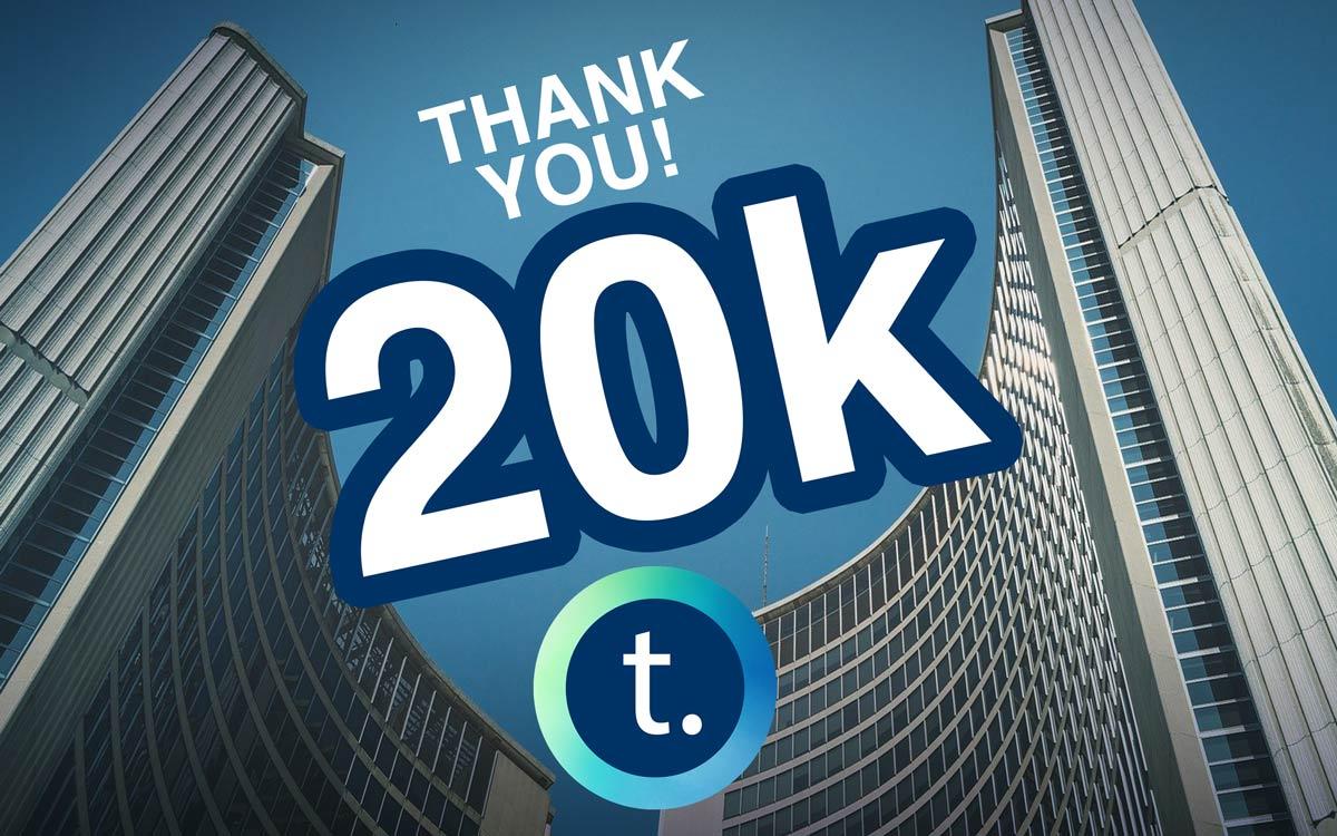 Tdot Shots hits 20k Thank You!